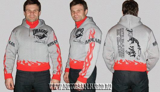 Мужской свитер - БРЮС ЛИ - BRUCE LEE