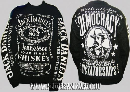 Мужской свитер - виски ДЖЕК ДЕНИЕЛС - whiskey JACK DANIEL'S