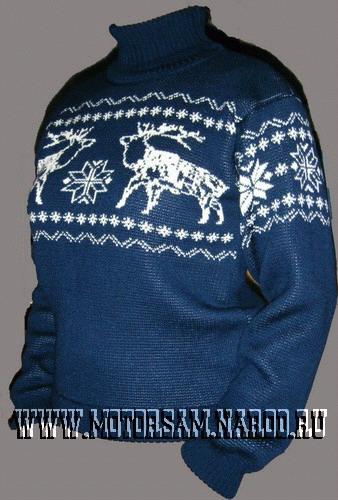 связать свитер с оленями мужской. детские свитера-реглан спицами.