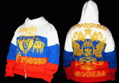 Мужской жилет - герб РОССИИ