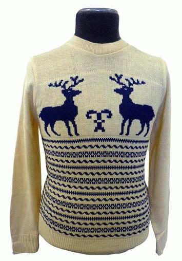 мужской свитер с орнаментом. схемы свитеров с оленями.